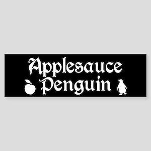 TVD Applesauce Penguin Bumper Sticker