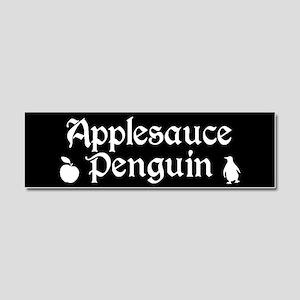 TVD Applesauce Penguin Car Magnet 10 x 3