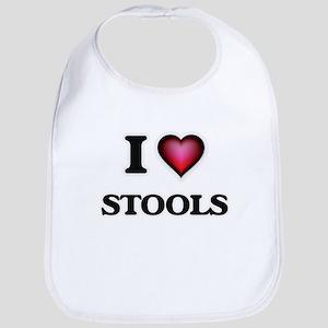 I love Stools Bib
