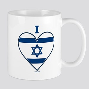 I Love Israel Mugs