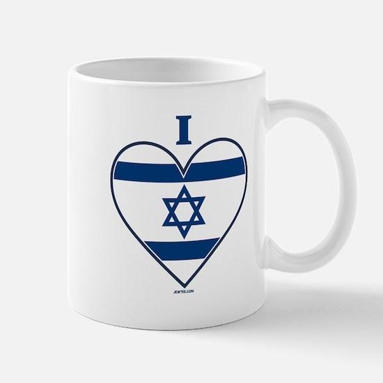I Love Israel Mugs