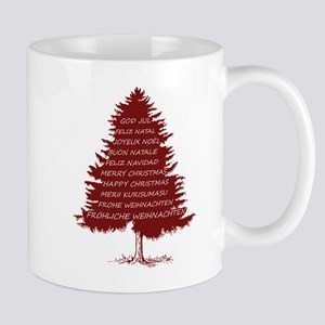 "Christmas Tree ""Merry Christmas"" (in differen Mugs"