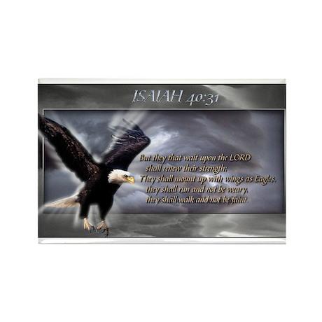 ISAIAH 40:31 Rectangle Magnet