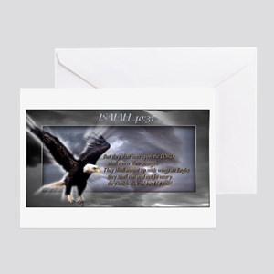 ISAIAH 40:31 Greeting Card