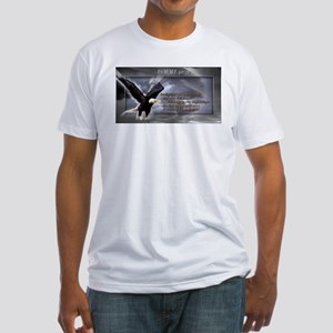 ISAIAH 40:31 Fitted T-Shirt