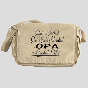 World's Greatest Opa... Messenger Bag