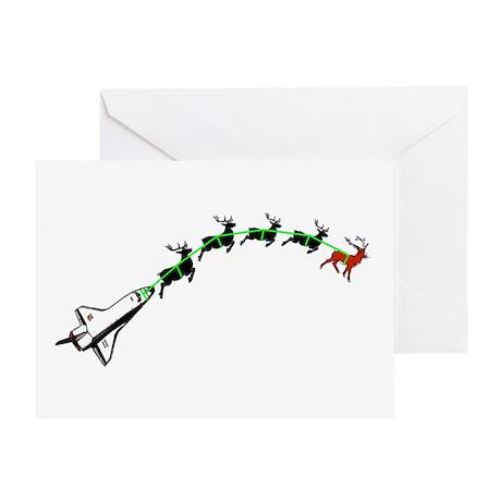Santa Claus's Shuttle Greeting Card