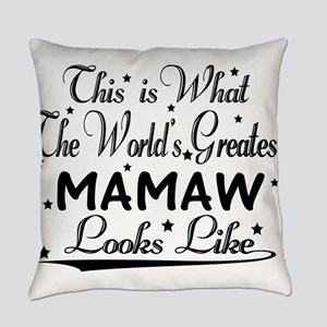 World's Greatest Mamaw... Everyday Pillow