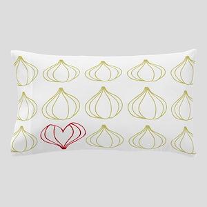 I love garlic pattern design Pillow Case