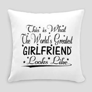 World's Greatest Girlfriend... Everyday Pillow