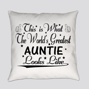 World's Greatest Auntie... Everyday Pillow