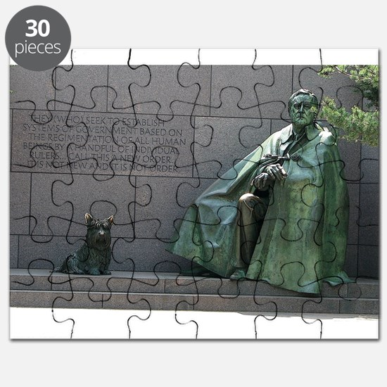 FDR and Fala Puzzle
