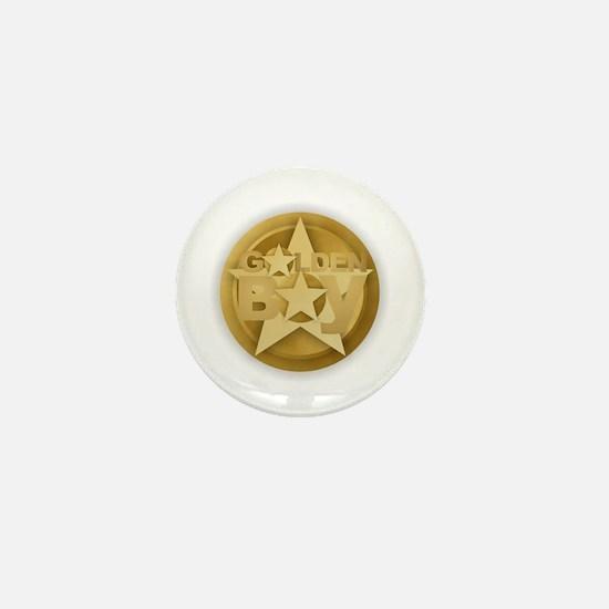 Golden Boy Mini Button
