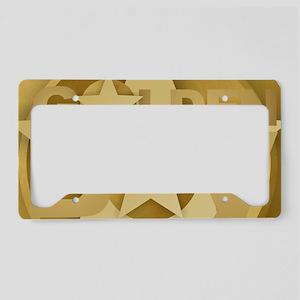 Golden Boy License Plate Holder