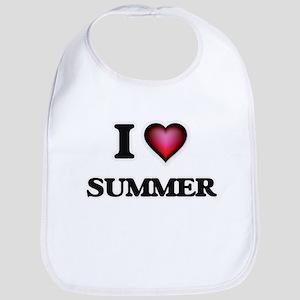 I love Summer Bib