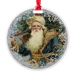 Vintage Victorian Father Christmas Ornament