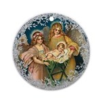 Vintage Victorian Christmas Angels with Baby Jesus