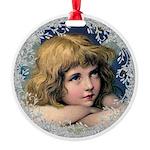 Vintage Victorian Christmas Angel Ornament