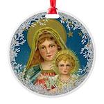 Vintage Victorian Mary Jesus Ornament