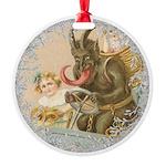 Vintage Victorian Krampus Ornament