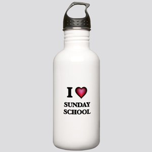 I love Sunday School Stainless Water Bottle 1.0L