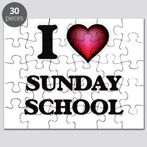 I love Sunday School Puzzle