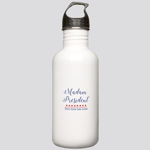Madam President Your Time Has Come Water Bottle