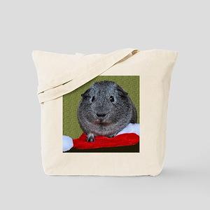 Guinea Pig Christmas Tote Bag