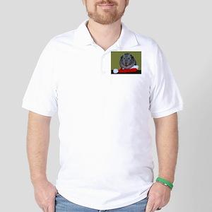 Guinea Pig Christmas Golf Shirt