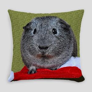 Guinea Pig Christmas Everyday Pillow