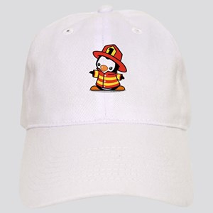 Firefighter Penguin Cap