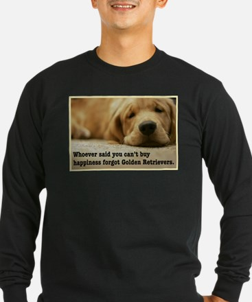 Happiness is Golden Long Sleeve T-Shirt