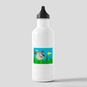 santa sloth Stainless Water Bottle 1.0L
