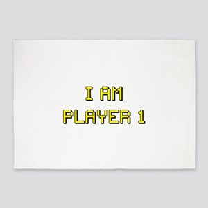i am player 1 5'x7'Area Rug