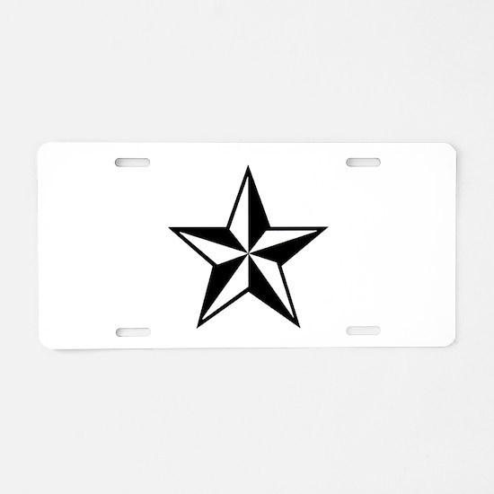 Lone Star Aluminum License Plate