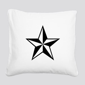 Lone Star Square Canvas Pillow