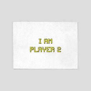 i am player 2 5'x7'Area Rug