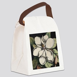 Vintage Magnolia Canvas Lunch Bag