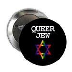 QUEER JEW Button