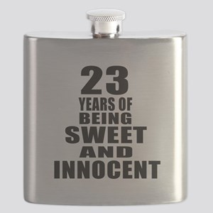 23 Years Of Being Sweet And Innocent Flask