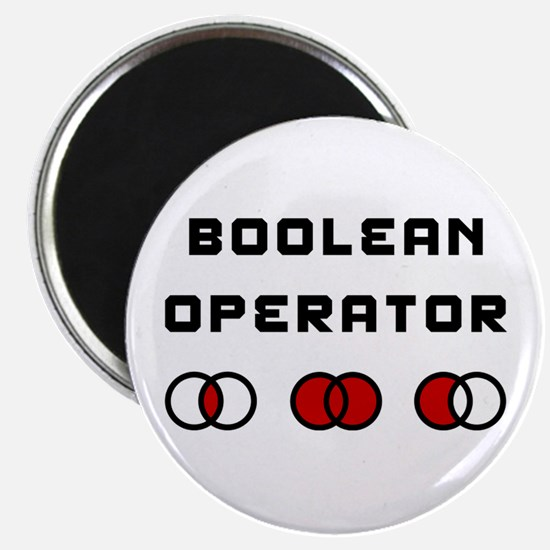 Boolean Operator Magnet