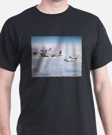 B-17 Formation Ash Grey T-Shirt