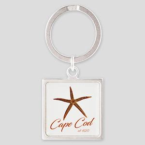 Cape Cod Starfish Keychains