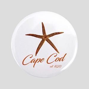 Cape Cod Starfish Button