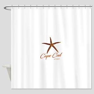 Cape Cod Starfish Shower Curtain