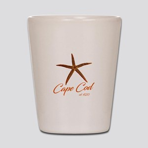 Cape Cod Starfish Shot Glass