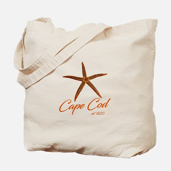 Cape Cod Starfish Tote Bag