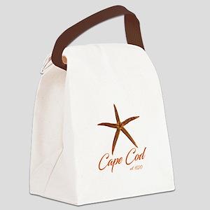 Cape Cod Starfish Canvas Lunch Bag