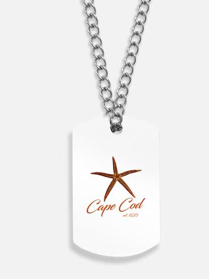 Cape Cod Starfish Dog Tags