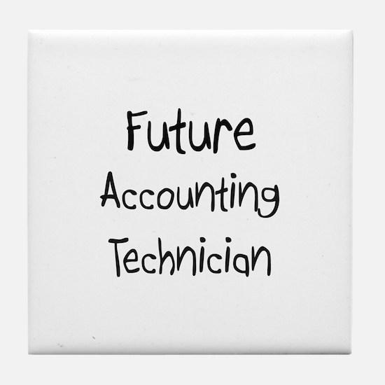 Future Accounting Technician Tile Coaster